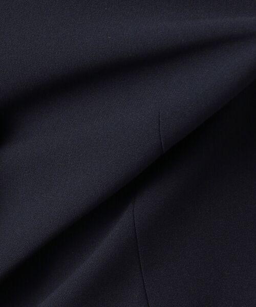 S size ONWARD(小さいサイズ) / エスサイズオンワード ノーカラージャケット | 【洗える】トリアセダブルジョーゼット ノーカラージャケット | 詳細15