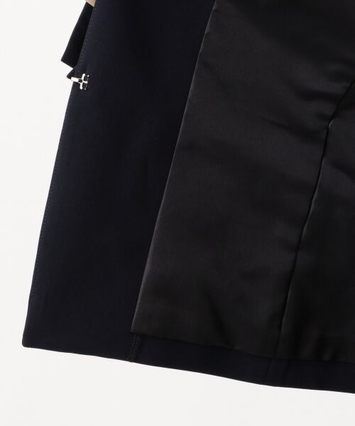 S size ONWARD(小さいサイズ) / エスサイズオンワード ノーカラージャケット | 【洗える】トリアセダブルジョーゼット ノーカラージャケット | 詳細16