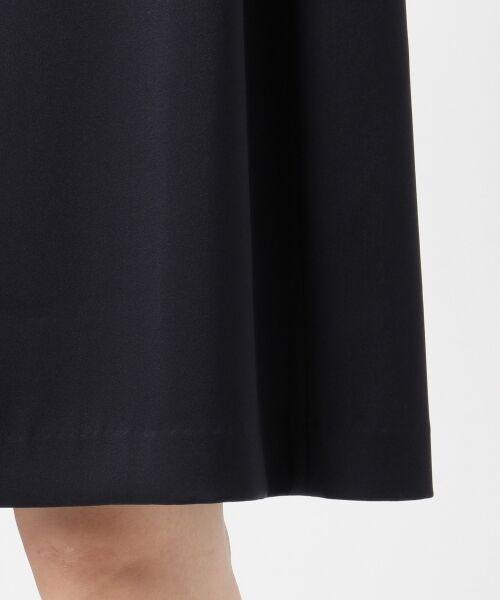 S size ONWARD(小さいサイズ) / エスサイズオンワード ドレス | シフォンスリーブサテン ワンピース | 詳細9