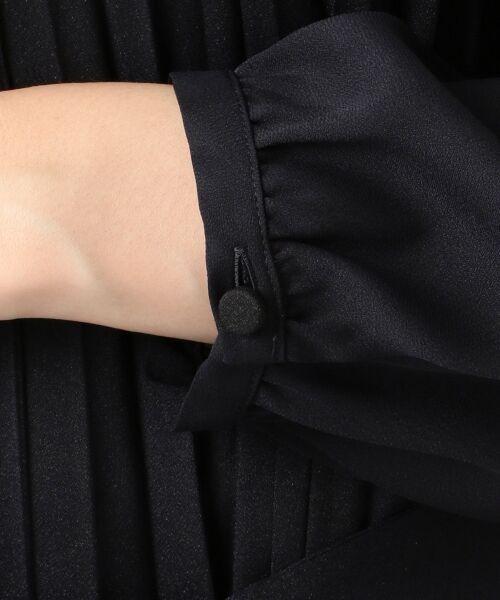 S size ONWARD(小さいサイズ) / エスサイズオンワード ミニ丈・ひざ丈ワンピース | 【セレモニー対応 / 洗える】クリスタルアムンゼン ワンピース | 詳細8