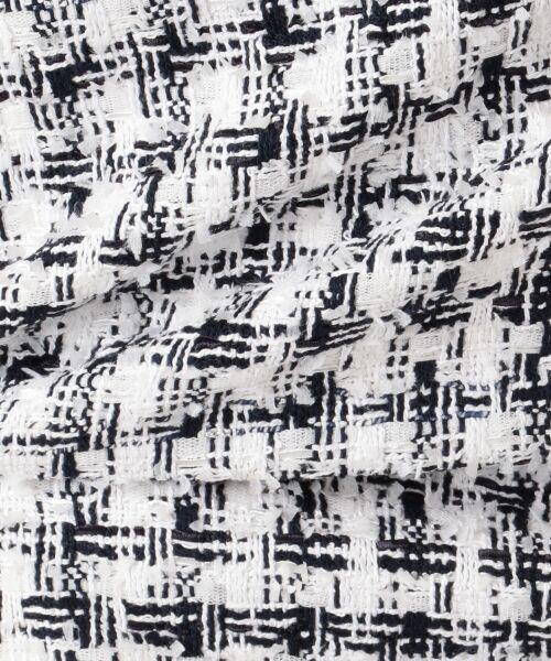 S size ONWARD(小さいサイズ) / エスサイズオンワード ミニ・ひざ丈スカート | 【セットアップ対応】CLALENSON チェックツイード スカート | 詳細8