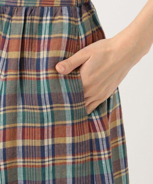 S size ONWARD(小さいサイズ) / エスサイズオンワード ミニ・ひざ丈スカート | 【マガジン掲載】LIBECO リネンロング スカート(検索番号K25) | 詳細10