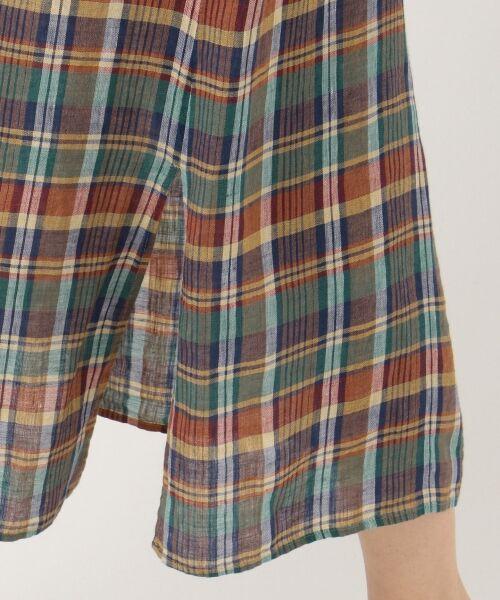 S size ONWARD(小さいサイズ) / エスサイズオンワード ミニ・ひざ丈スカート | 【マガジン掲載】LIBECO リネンロング スカート(検索番号K25) | 詳細11