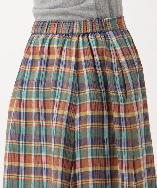 S size ONWARD(小さいサイズ) / エスサイズオンワード ミニ・ひざ丈スカート | 【マガジン掲載】LIBECO リネンロング スカート(検索番号K25) | 詳細8