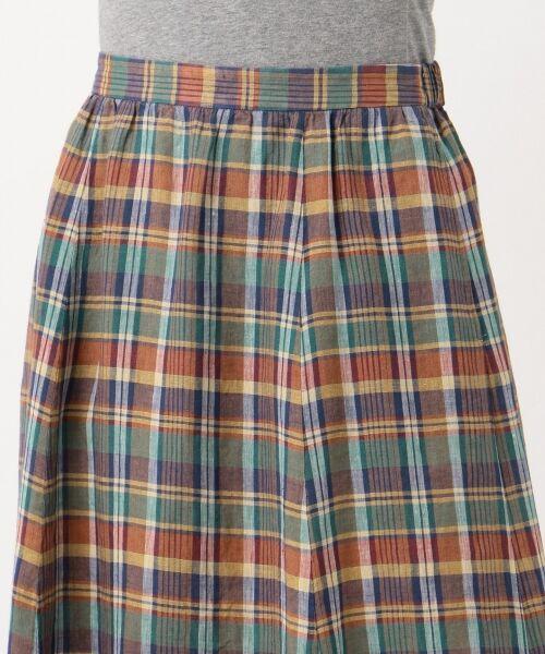 S size ONWARD(小さいサイズ) / エスサイズオンワード ミニ・ひざ丈スカート | 【マガジン掲載】LIBECO リネンロング スカート(検索番号K25) | 詳細9