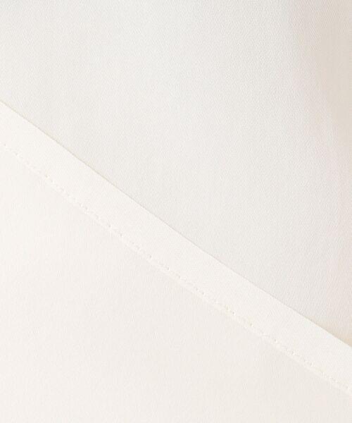 S size ONWARD(小さいサイズ) / エスサイズオンワード トップス | 【洗える】エアリーキュプラサテン ブラウス | 詳細9