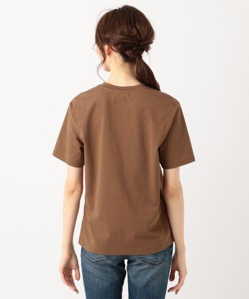 S size ONWARD(小さいサイズ) / エスサイズオンワード Tシャツ | 【洗える】コットンプレミアム天竺 カットソー | 詳細9