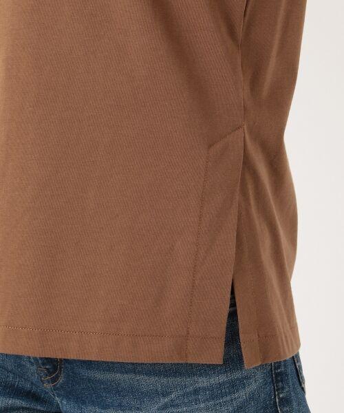 S size ONWARD(小さいサイズ) / エスサイズオンワード Tシャツ | 【洗える】コットンプレミアム天竺 カットソー | 詳細12
