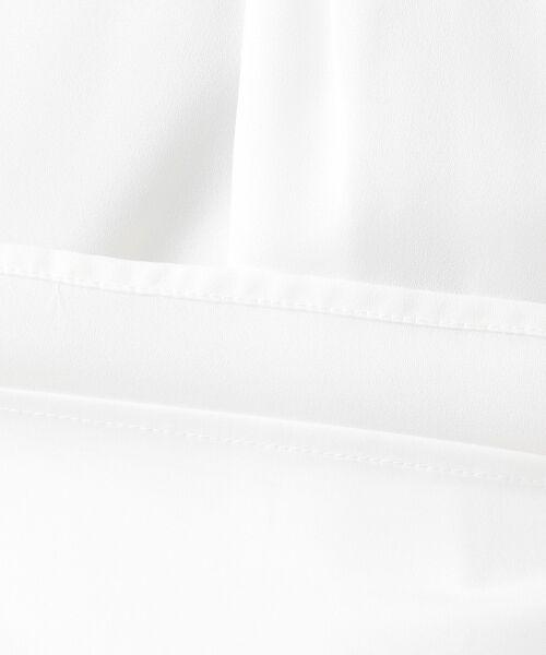 S size ONWARD(小さいサイズ) / エスサイズオンワード トップス | 【洗える】ボータイモチーフジョーゼット ブラウス | 詳細17