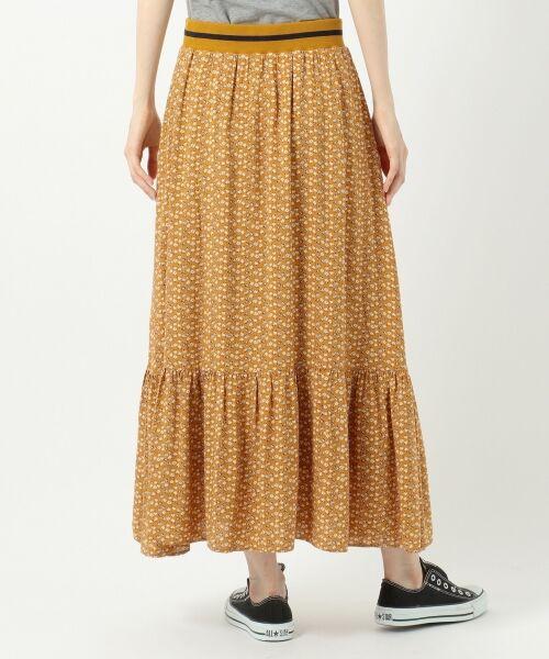 S size ONWARD(小さいサイズ) / エスサイズオンワード ミニ・ひざ丈スカート | 【L'aube】アンティークフラワーロング スカート | 詳細14