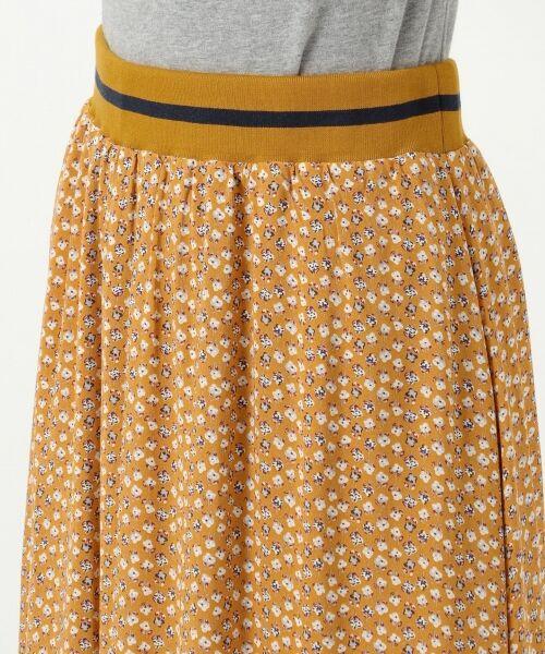 S size ONWARD(小さいサイズ) / エスサイズオンワード ミニ・ひざ丈スカート | 【L'aube】アンティークフラワーロング スカート | 詳細15