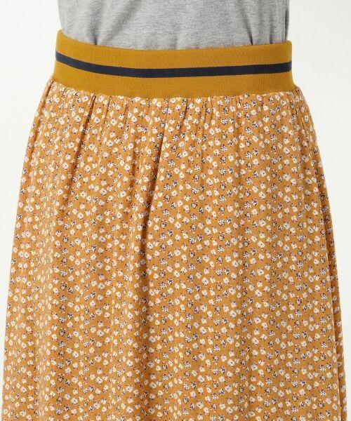 S size ONWARD(小さいサイズ) / エスサイズオンワード ミニ・ひざ丈スカート | 【L'aube】アンティークフラワーロング スカート | 詳細16