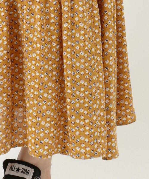 S size ONWARD(小さいサイズ) / エスサイズオンワード ミニ・ひざ丈スカート | 【L'aube】アンティークフラワーロング スカート | 詳細17