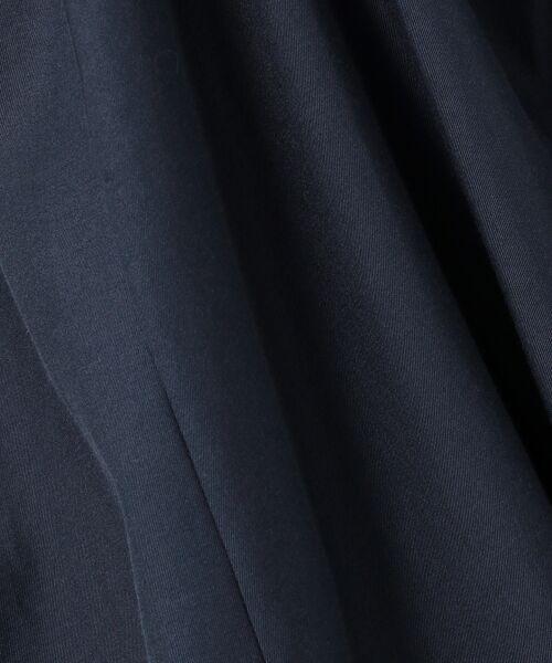 S size ONWARD(小さいサイズ) / エスサイズオンワード ミニ丈・ひざ丈ワンピース   【VERY6・7月合併号掲載/VERYコラボ】シルクコットンツイル ワンピース   詳細20