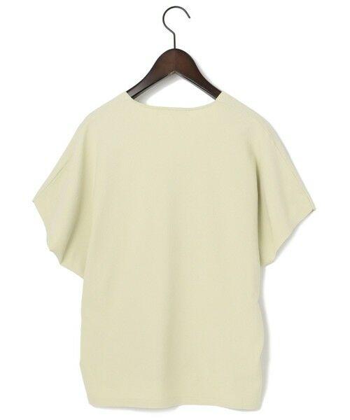 S size ONWARD(小さいサイズ) / エスサイズオンワード ニット・セーター | 【洗える】レーヨンポリエステル ストレッチ Vネック ニット | 詳細16