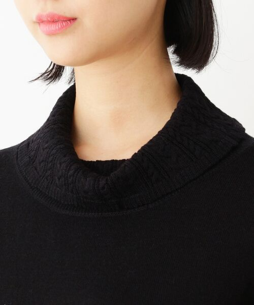 SOUP / スープ ニット・セーター | 【WEB限定サイズ有り】オフタートルネックプルオーバー | 詳細4