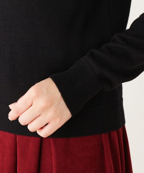 SOUP / スープ ニット・セーター | 【WEB限定サイズ有り】オフタートルネックプルオーバー | 詳細5