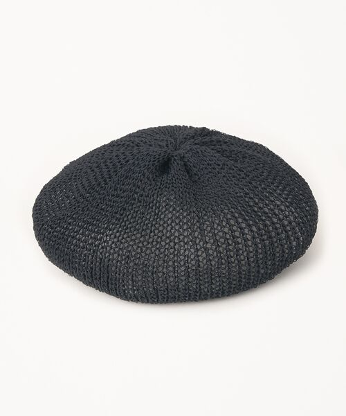 STYLE & EDIT / スタイル&エディット ハンチング・キャスケット・ベレー帽 | ベレー帽(ブラック)