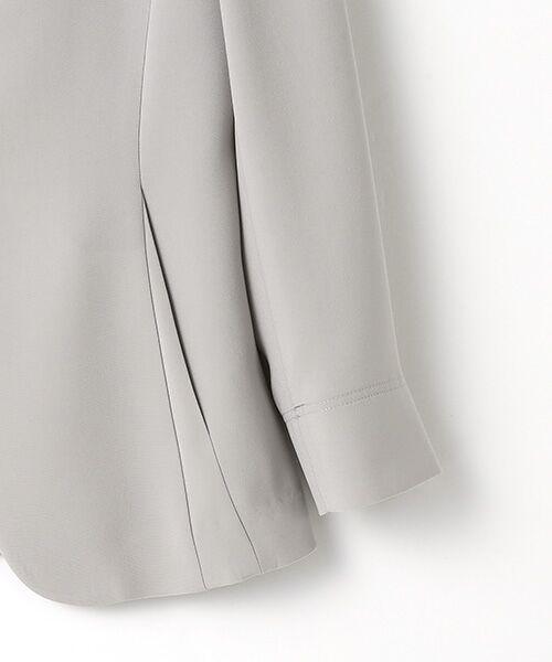 SUIT CLOSET / スーツクローゼット ノーカラージャケット | トリアセノーカラージャケット | 詳細3