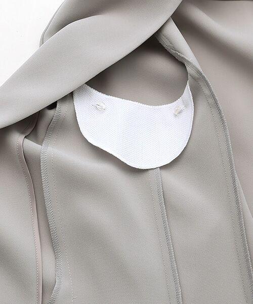 SUIT CLOSET / スーツクローゼット ノーカラージャケット | トリアセノーカラージャケット | 詳細4
