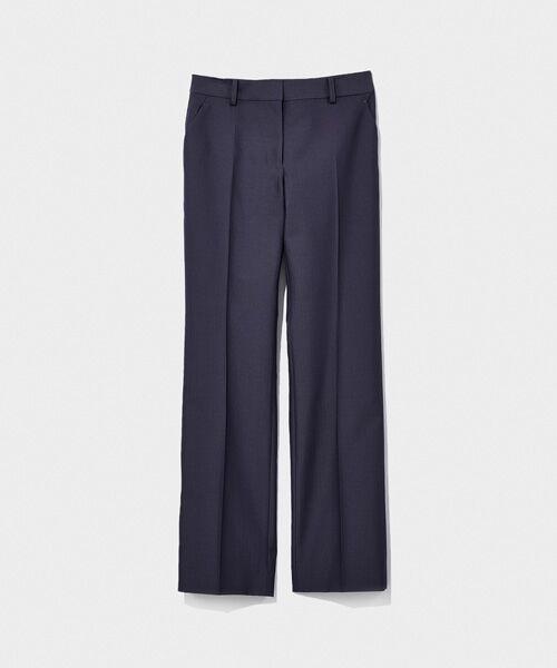 SUIT CLOSET / スーツクローゼット スラックス・ドレスパンツ   ストレートパンツ(ブルー)