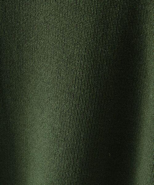 TABASA / タバサ ニット・セーター   セミソモウ片畔プルオーバー   詳細7