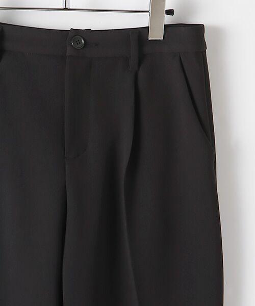 TABASA / タバサ スラックス・ドレスパンツ | 2WAYストレッチワンタックテーパードパンツ | 詳細4