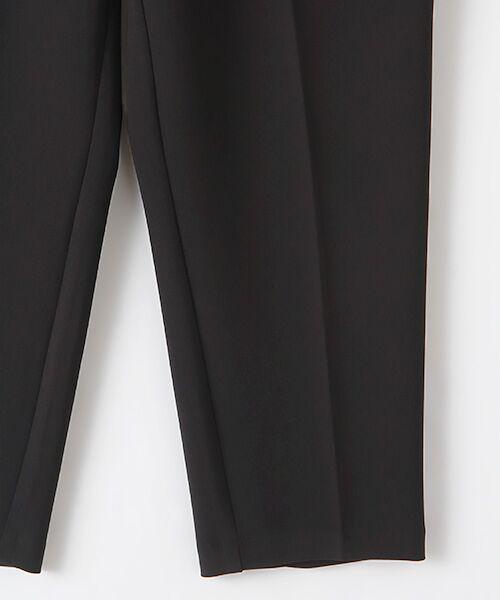TABASA / タバサ スラックス・ドレスパンツ | 2WAYストレッチワンタックテーパードパンツ | 詳細5