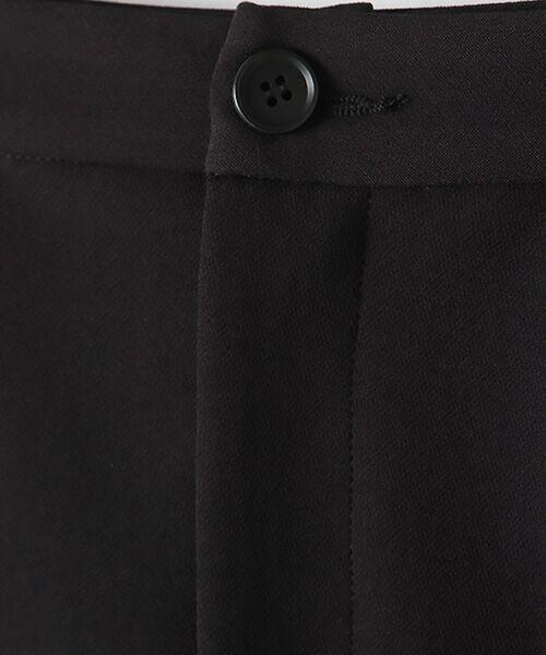 TABASA / タバサ スラックス・ドレスパンツ | 2WAYストレッチワンタックテーパードパンツ | 詳細7