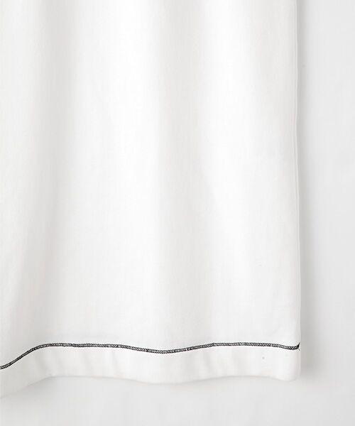TABASA / タバサ ロング・マキシ丈ワンピース | コットン裏毛王冠プリント半袖ワンピース | 詳細5
