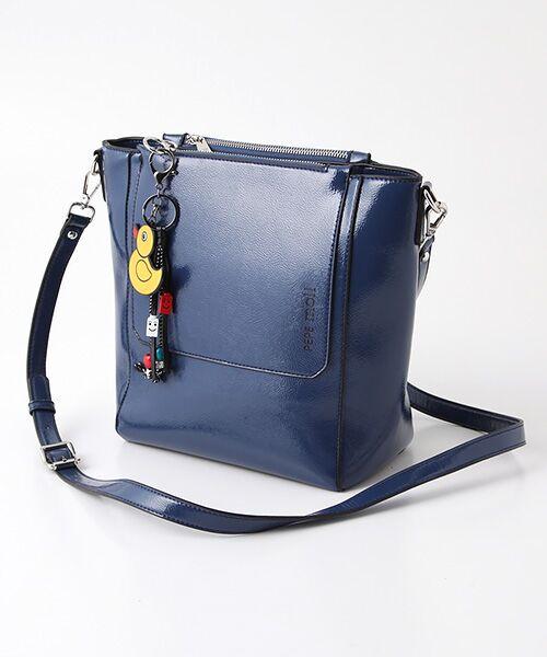TABASA / タバサ トートバッグ | ☆小物付きバッグ(ブルー)