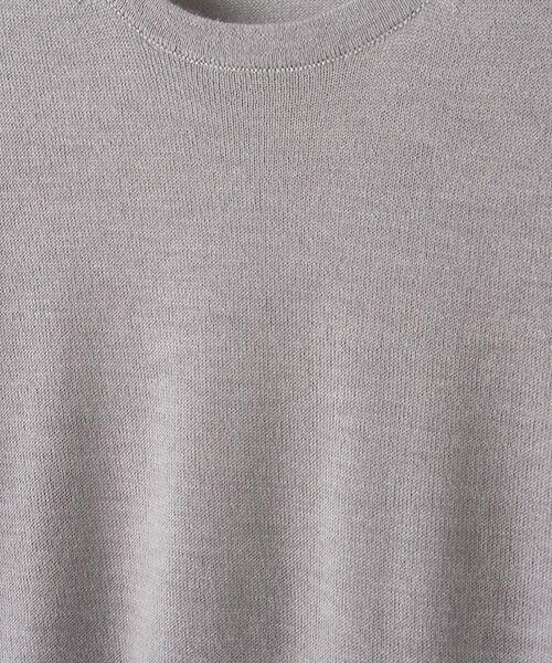 TAKASHIMAYA OUTLET / タカシマヤ アウトレット ニット・セーター | 【シーズンスタイルラボ】クルーネックプルオーバー | 詳細6