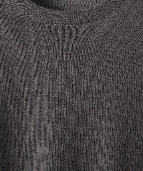 TAKASHIMAYA OUTLET / タカシマヤ アウトレット ニット・セーター | 【シーズンスタイルラボ】クルーネックプルオーバー | 詳細7