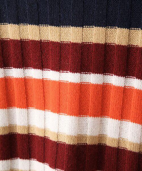 TAKASHIMAYA OUTLET / タカシマヤ アウトレット ニット・セーター | マルチボーダーリブ | 詳細5