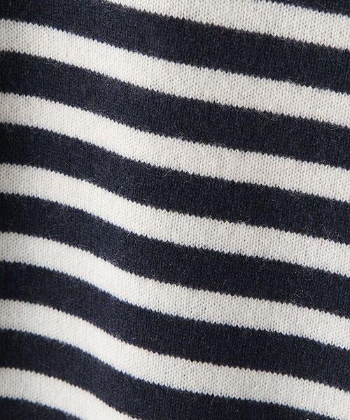 TAKASHIMAYA OUTLET / タカシマヤ アウトレット ニット・セーター   肩ボタン付ボーダー   詳細6