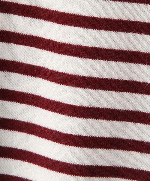 TAKASHIMAYA OUTLET / タカシマヤ アウトレット ニット・セーター   肩ボタン付ボーダー   詳細7