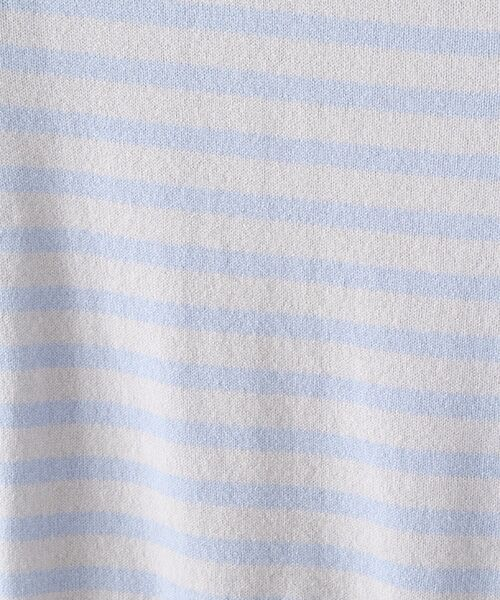 TAKASHIMAYA OUTLET / タカシマヤ アウトレット ニット・セーター   肩ボタン付ボーダー   詳細8