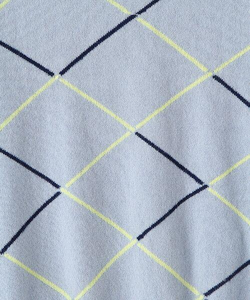 TAKASHIMAYA OUTLET / タカシマヤ アウトレット ニット・セーター | ダイヤ柄インターシャクルーネック | 詳細5