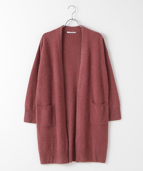 TAKASHIMAYA OUTLET / タカシマヤ アウトレット ニット・セーター | ファー加工カーディガン(R.PINK)