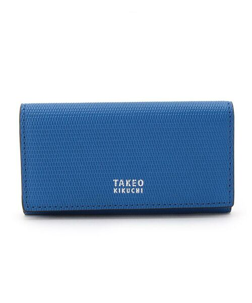 TAKEO KIKUCHI / タケオキクチ キーケース | ミニメッシュキーケース [ メンズ キーケース 定番 ギフト プレゼント ](ブルー(591))