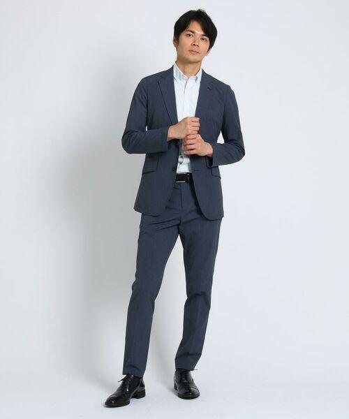 TAKEO KIKUCHI / タケオキクチ シャツ・ブラウス | CS_オルタネートカラーストライプ 半袖 シャツ | 詳細4