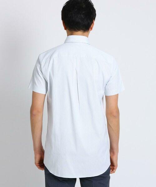 TAKEO KIKUCHI / タケオキクチ シャツ・ブラウス | CS_オルタネートカラーストライプ 半袖 シャツ | 詳細7