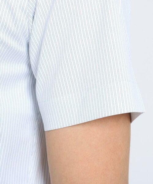 TAKEO KIKUCHI / タケオキクチ シャツ・ブラウス | CS_オルタネートカラーストライプ 半袖 シャツ | 詳細9