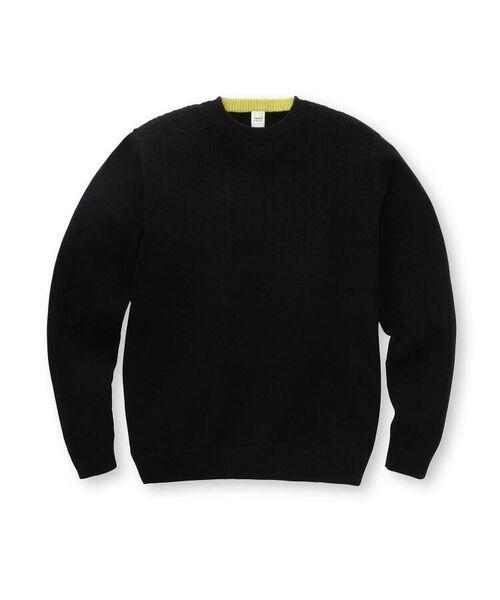 TAKEO KIKUCHI / タケオキクチ ニット・セーター | フルカシ クルーネック ニット | 詳細1