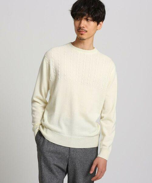TAKEO KIKUCHI / タケオキクチ ニット・セーター | フルカシ クルーネック ニット | 詳細12