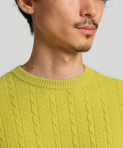 TAKEO KIKUCHI / タケオキクチ ニット・セーター | フルカシ クルーネック ニット | 詳細13