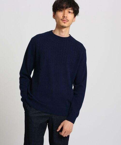 TAKEO KIKUCHI / タケオキクチ ニット・セーター | フルカシ クルーネック ニット | 詳細15