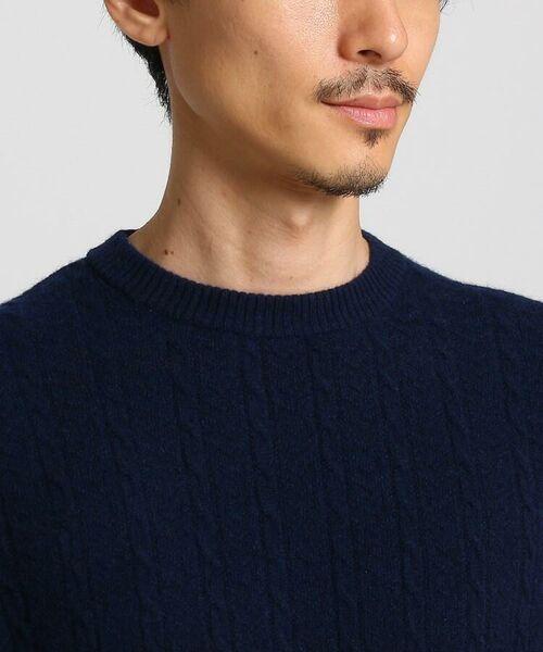 TAKEO KIKUCHI / タケオキクチ ニット・セーター | フルカシ クルーネック ニット | 詳細18