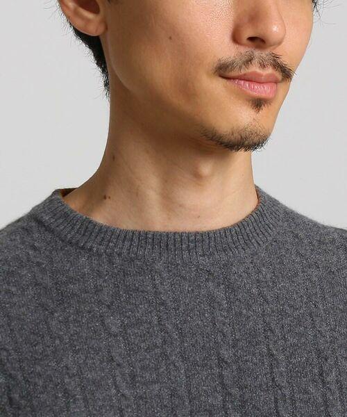 TAKEO KIKUCHI / タケオキクチ ニット・セーター | フルカシ クルーネック ニット | 詳細2