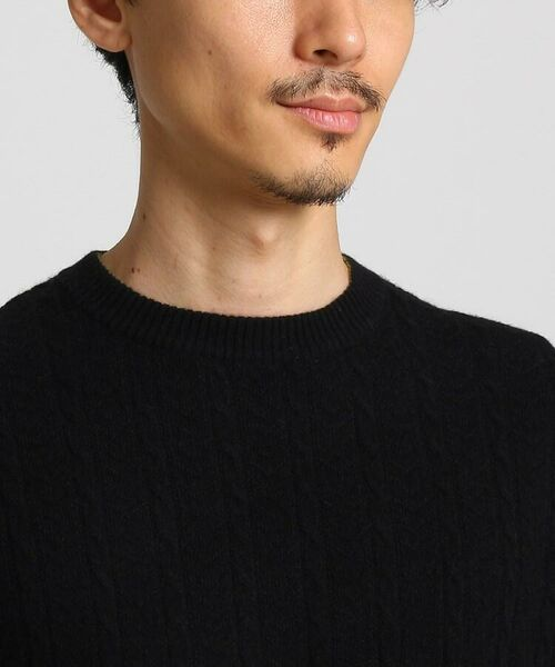 TAKEO KIKUCHI / タケオキクチ ニット・セーター | フルカシ クルーネック ニット | 詳細24